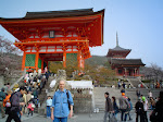 Kiyomizudera - najstarsza świątynia buddyjska wKioto.