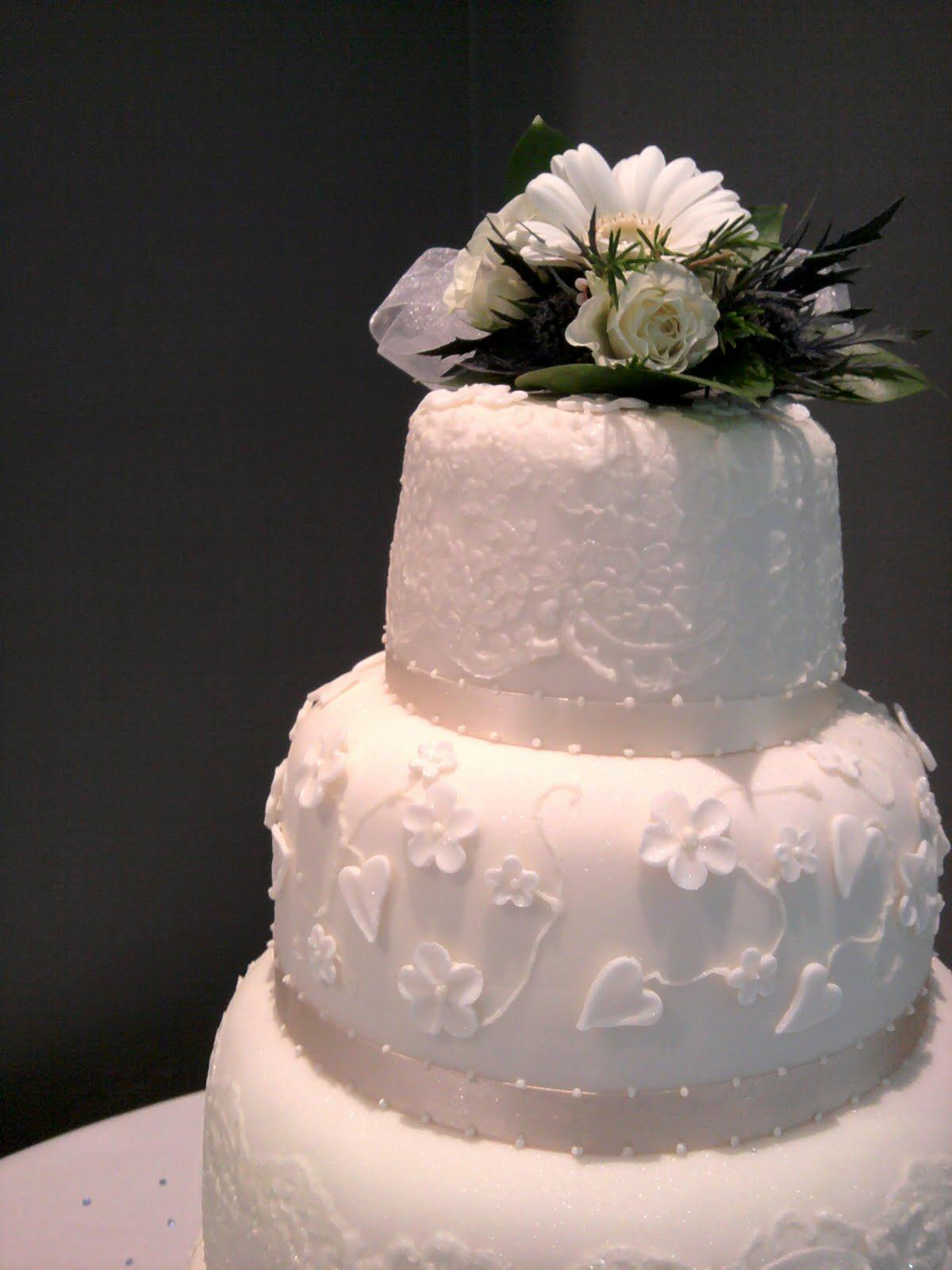 ever tiered wedding cake.