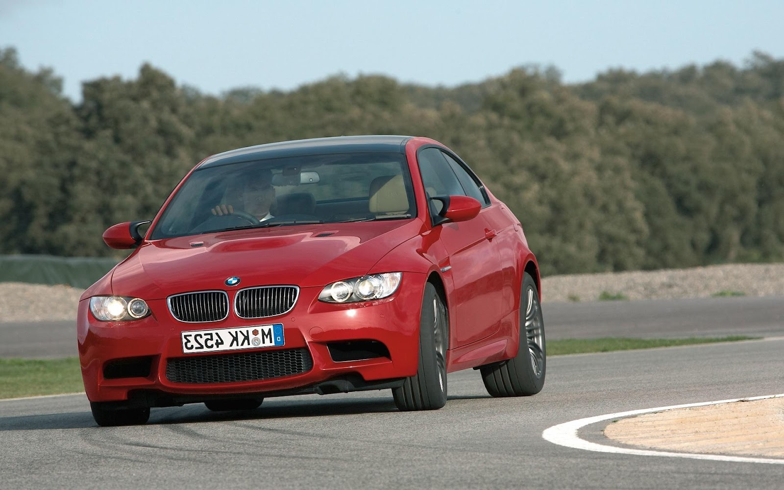 BMW M3 Coupe 2008 Wallpaper at