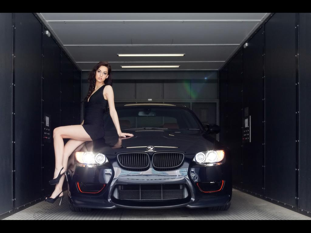 bmw tuning girl