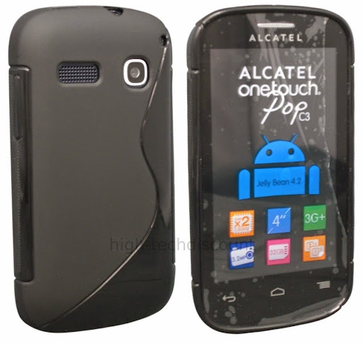 Coque silicone pop car interior design for Housse alcatel one touch