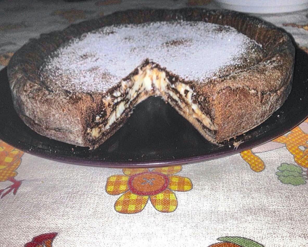 Pasticciando Con Federika Crostata Morbida Al Cacao Con Ripieno Di