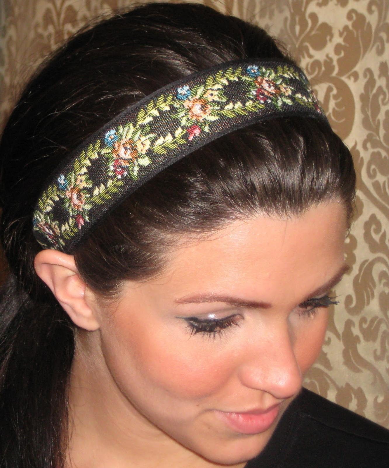 of these headbands. i love