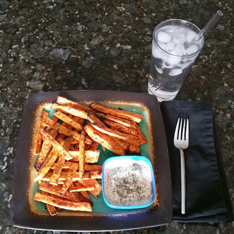 Dill Sweet Potato Fries
