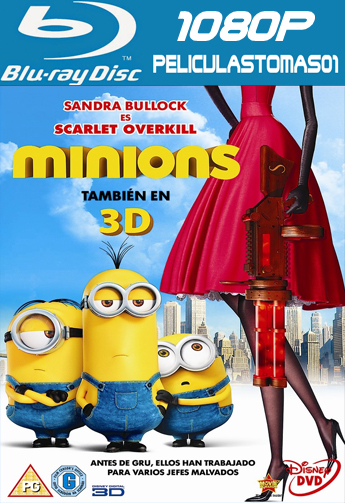 Los Minions (2015) [BDRip m1080p/Dual Castellano-ingles]