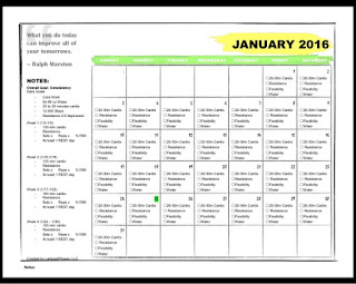 Certified fitness geek accountability calendar for january 2016 she loved it and i loved it so i made 1 for myself do you need a january calendar to help you hold yourself accountable solutioingenieria Gallery
