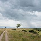 Regenwolken über Ishasha, Queen Elizabeth Nationalpark © Foto: Marco Penzel   Outback Africa