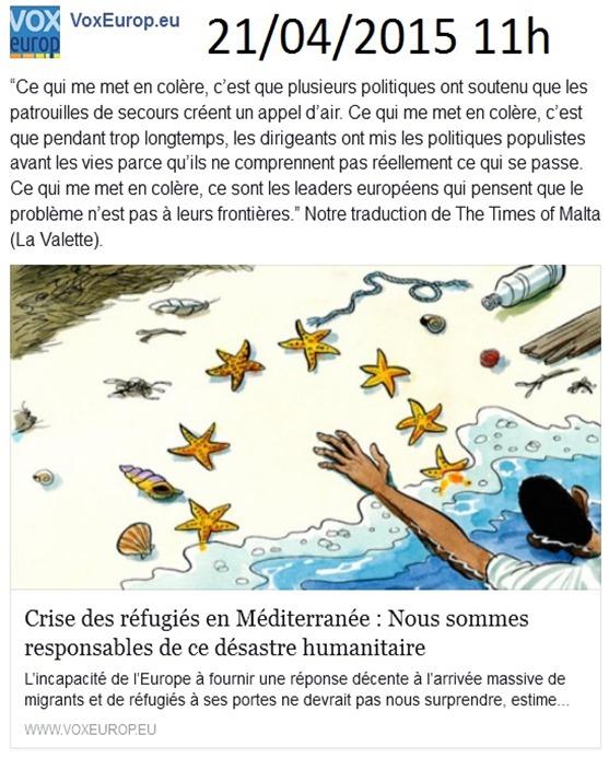 immigracion e mòrt Vox Europa