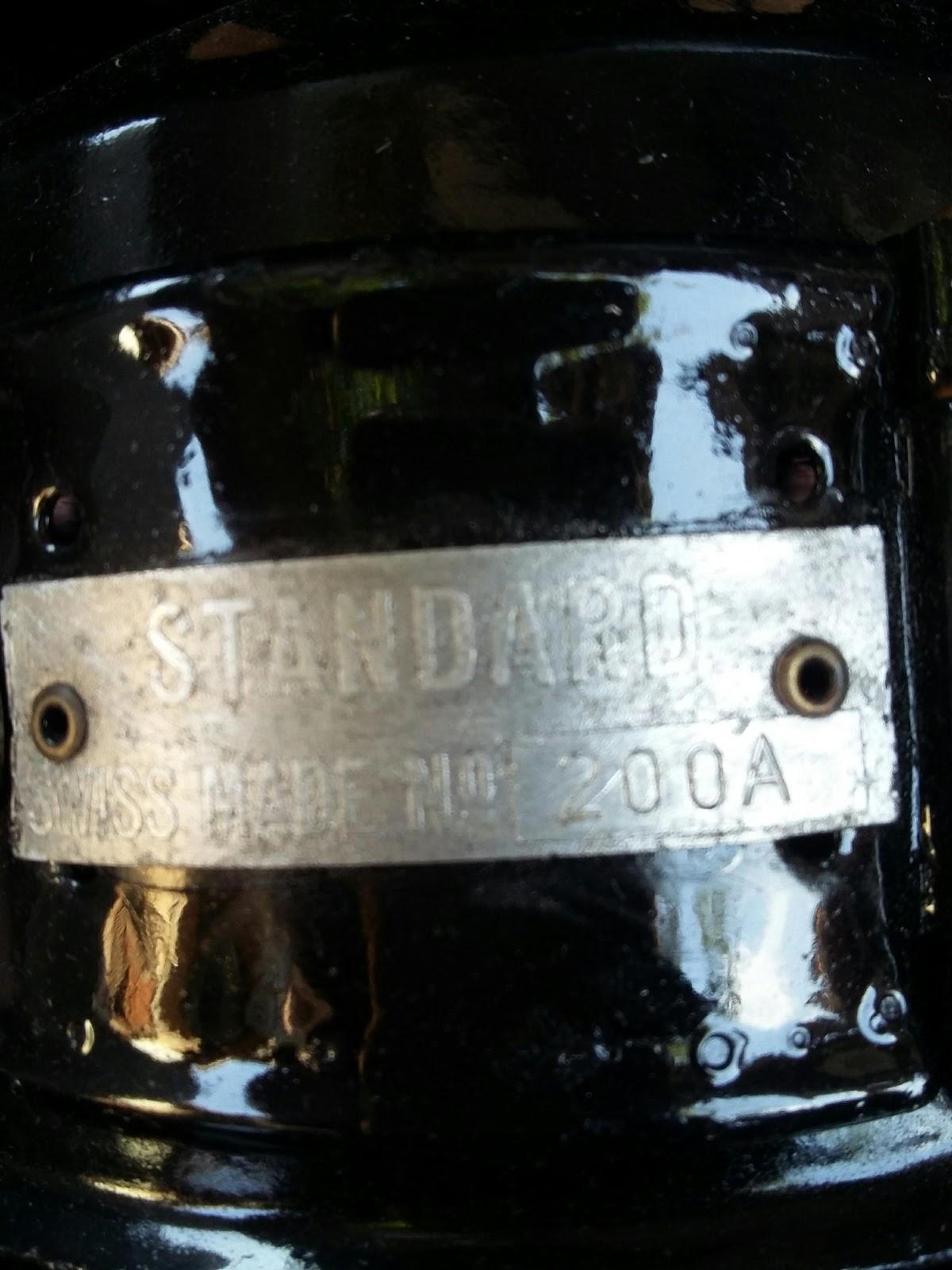 AntikAntikan: Lampu Donat STANARD SWISS MADE