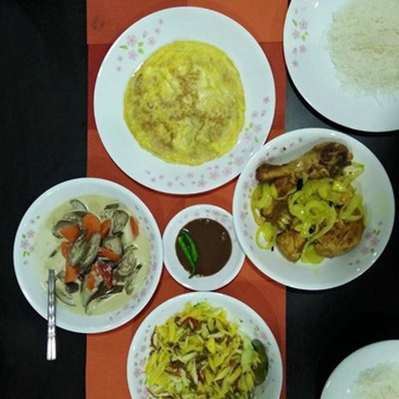 Makan malam : Jimatkah masak sendiri ??