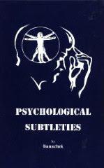 Cover of Banachek's Book Psychological Subtleties