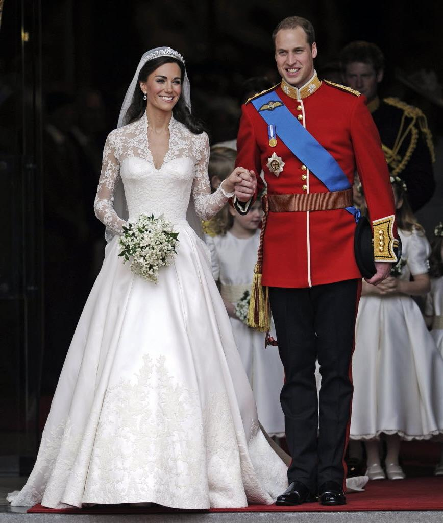 William and his wife Kate,