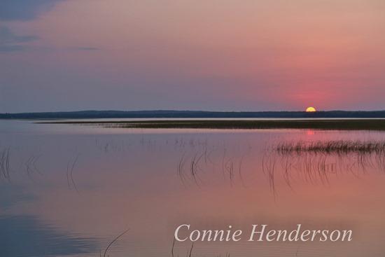 Sunset Shell Lake Sept 01 (2)