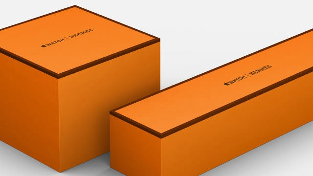 Apple Watch Hermès Orange Box Packaging | Source: Apple