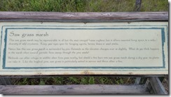 Sawgrass Marsh Placard