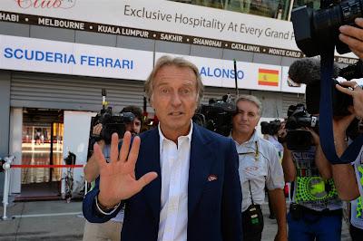 Лука ди Монтедземоло на Гран-при Италии 2014