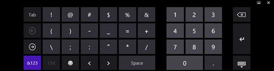 NumericKeyboard