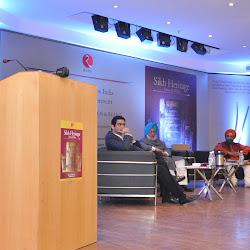 Mrs Gursharan Kaur speaking on the occasion