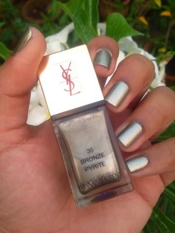 YSL La Laque Couture (35) Bronzer Pyrite