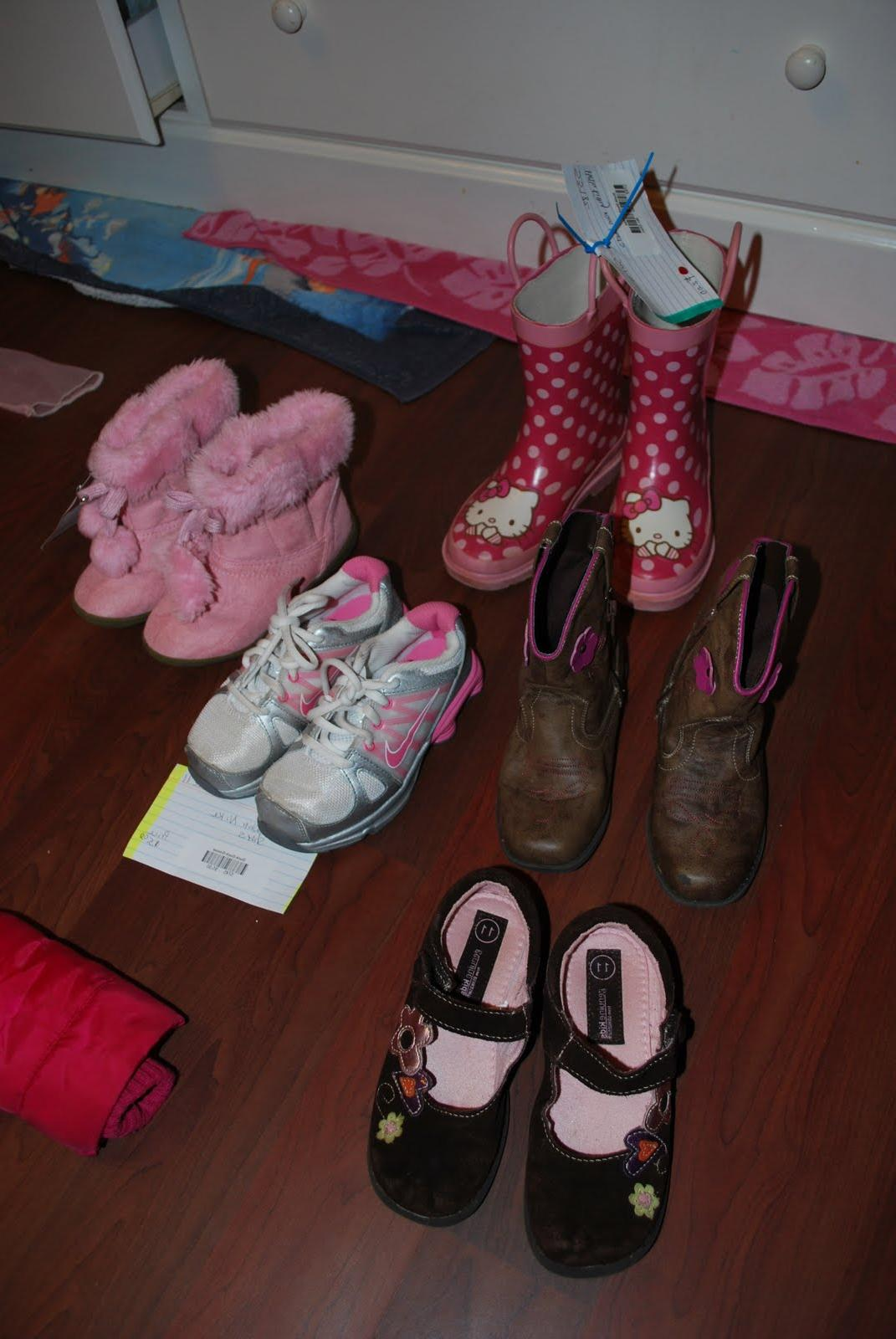 Cowboy Boots  6. Snow boots  5
