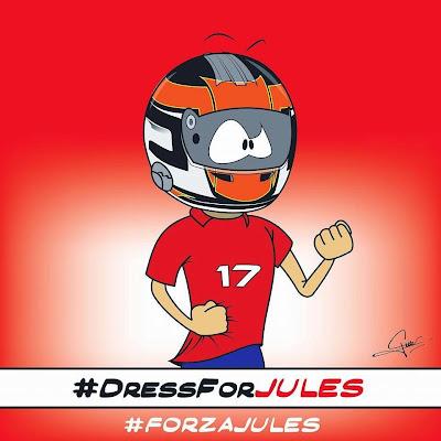 #DressForJules в поддержку Жюля Бьянки - комикс Quentin Guibert