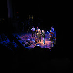 Ricky Skaggs and Barry Gibb singing at the Ryman Auditorium in Nashville TN 07262012-04