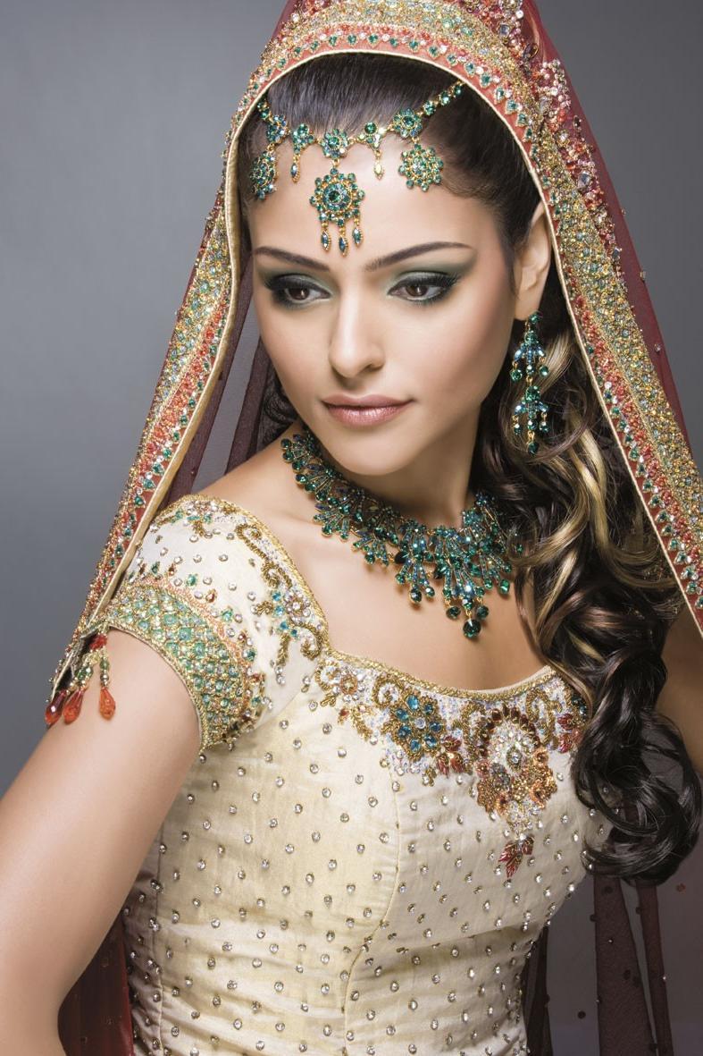 Pakistani bridal make up