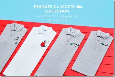 LACOST X PEANUTS 2015 collection via GQ