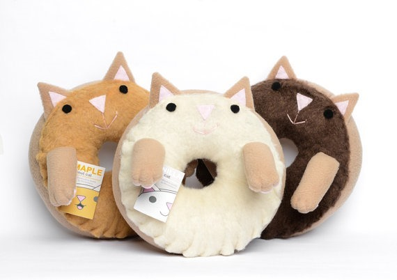 Donut Cats by Marnin Saylor