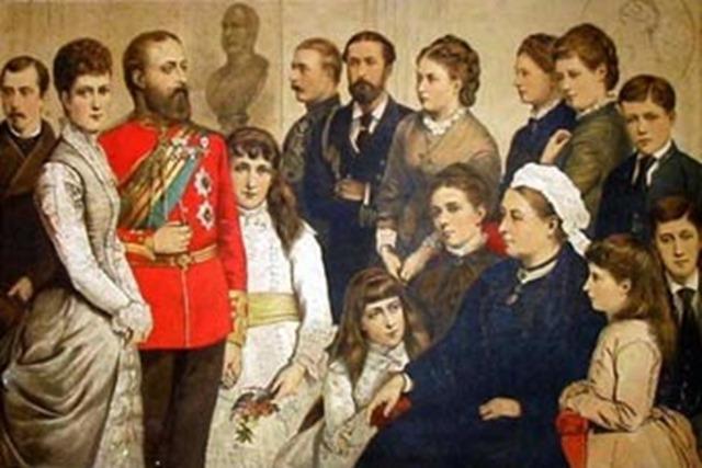 Cuadro de familia 1880