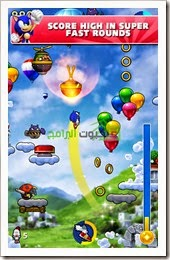 لعبة سونيك جمب Sonic Jump Fever للأندرويد -1