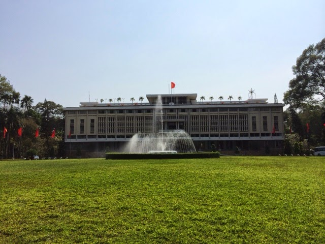 PhotoBlog - Historic Ho Chi Minh City - Remunification Palace and the War Museum