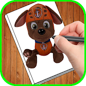 Download how to draw paw patrole APK on PC