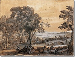 Claude_Lorrain_-_Coastal_Landscape_with_a_Battle_on_a_Bridge