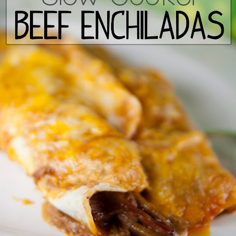"Crock Pot Shredded Beef Enchiladas with Lay's ""Do Us a Flavor"" Contest"