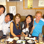 enjoy a feast with my friends in Kabukocho, Shinjuku, Tokyo in Tokyo, Tokyo, Japan