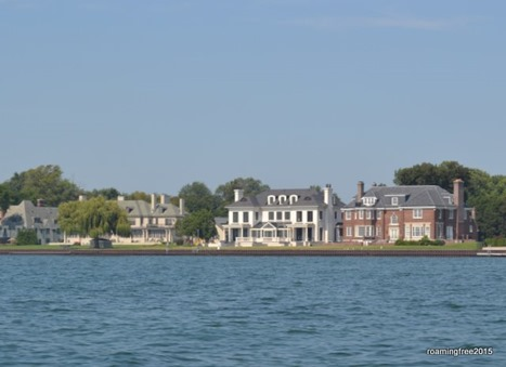 More estates on the river