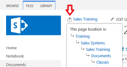 Add a Crumb Trail to SharePoint 2013 | Mike Smith's Tech ...