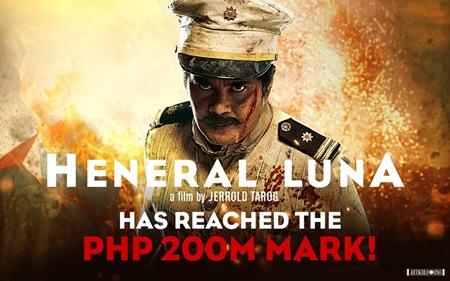 Heneral Luna reaches P200M mark