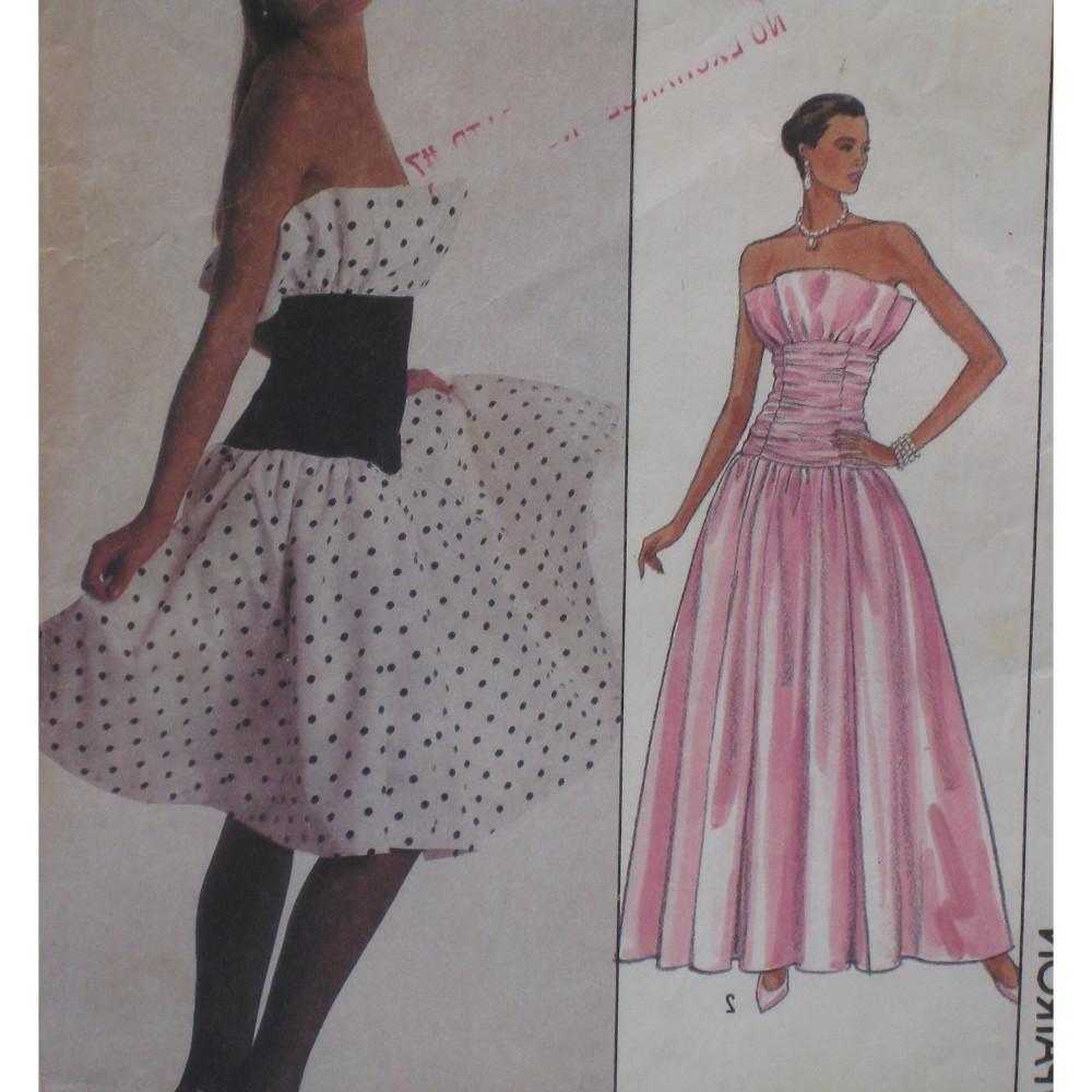 Ruffle Dress Pattern,
