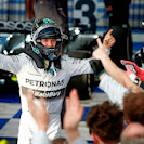 Nico Rosberg wins his 4th F1 GP