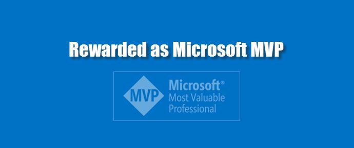 6th time Microsoft MVP (www.kunal-chowdhury.com)