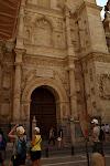 północne wejścia do katedry - brama pokutników