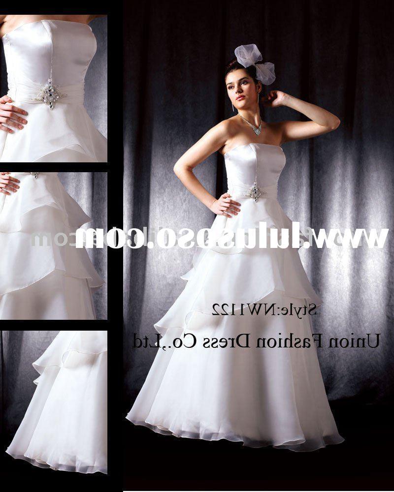 Modern Bridal Dress NW1122