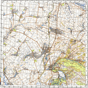 Map 100k--m36-119--(1990)