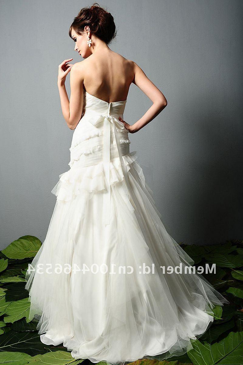 Buy wedding evening dress, couture wedding dress, tulle wedding dress,