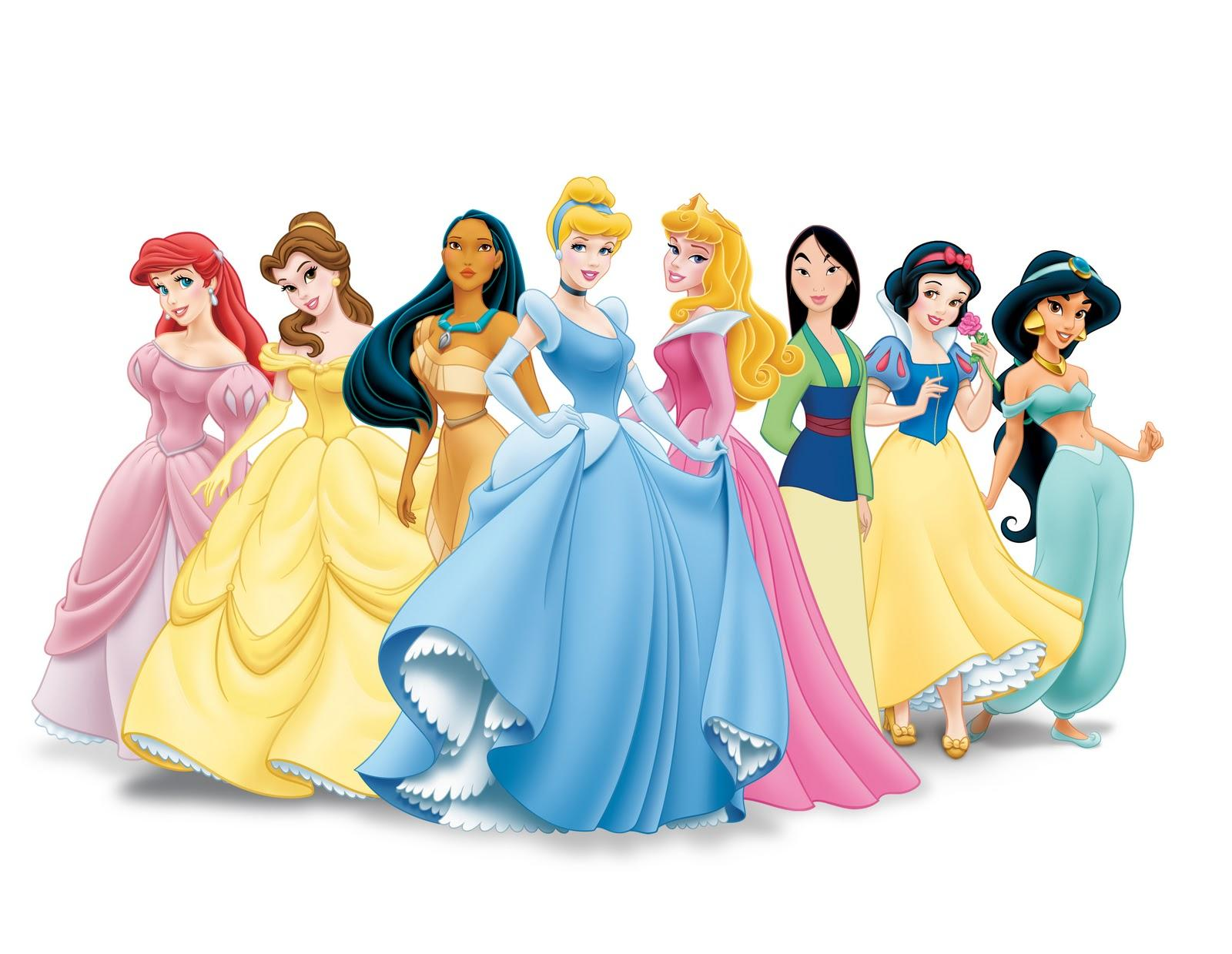 The Disney princesses will,