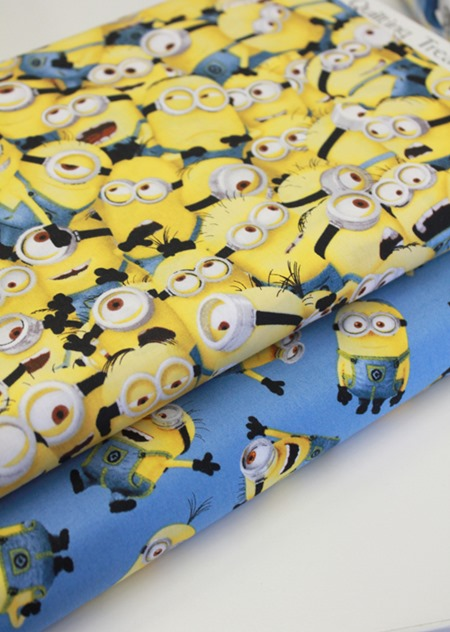 Minions fabric 1