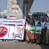 Traffic awareness programme in Kukatpally branch