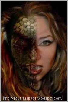 reptiliano-femea